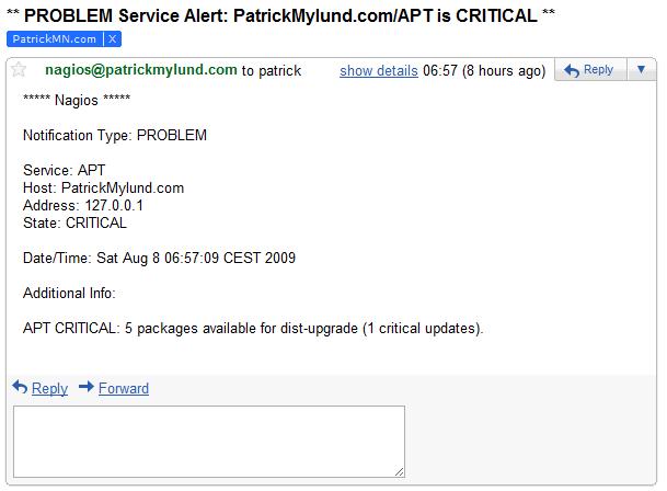 Nagios Email Notification