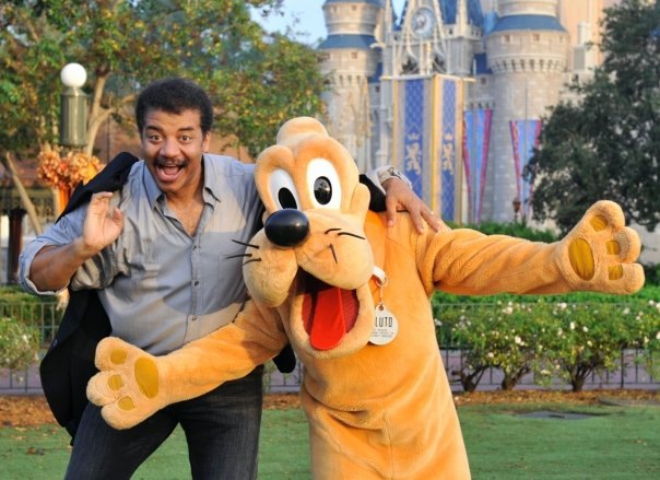 Neil deGrasse Tyson and Pluto