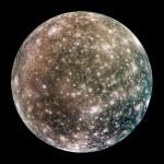 Jupiter's moon Callisto
